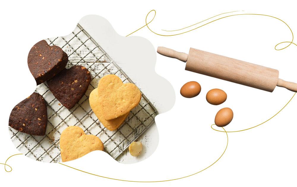 手工餅乾-甜蜜杏福有你有我